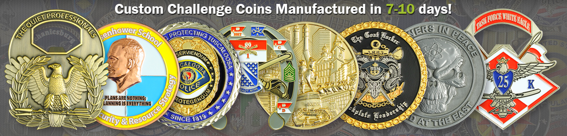 Custom Challenge Coins Made for Any Group