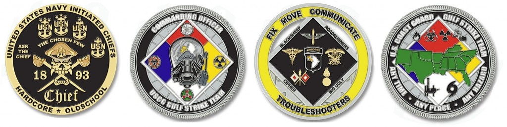 Custom Military Challenge Coins